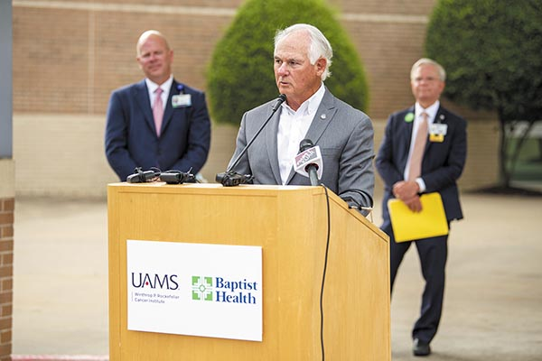 New UAMS Baptist Health Cancer Center Opens in North Little Rock