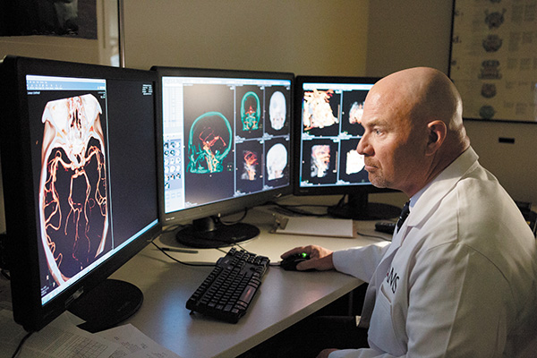 UAMS Neurosurgeon J.D. Day Internationally Known Leader Developing Improved Complex Cranial Surgery Techniques
