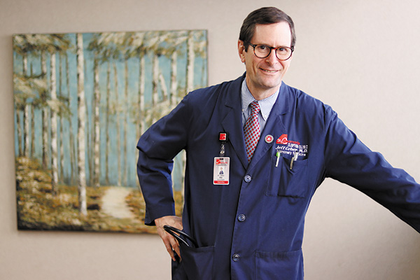 Jeffrey Cohen, MD, of Clopton Clinic, Concentrates on Sleep