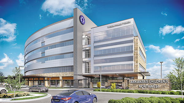 Healthcare Projects Dominating Construction in Arkansas