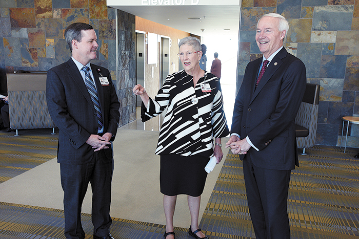 UAMS Chancellor Cam Patterson Wants to Bend the Healthcare Curve in Arkansas