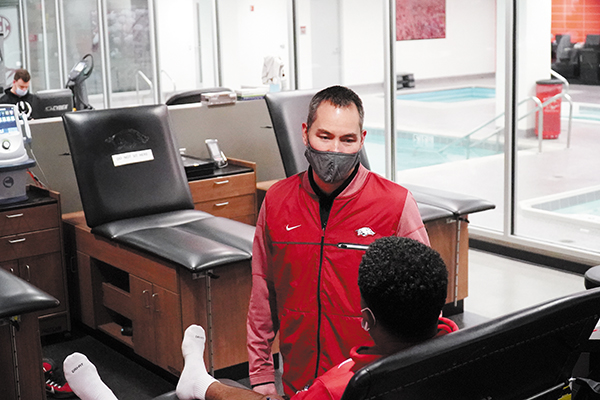 Ramon Ylanan, MD, Feels Honored to be Razorback's Sports Medicine Specialist